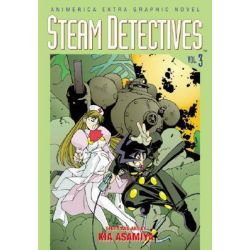 Steam Detectives, Vol. 3, Steam Detectives by Kia Asamiya, 9781569315279.