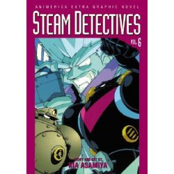 Steam Detectives, Steam Detectives by Kia Asamiya, 9781569318928.