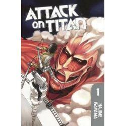 Attack on Titan 1, Attack on Titan by Hajime Isayama, 9780606371094.