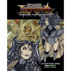 Vampress Luxura, Sword of the Apocalypse Chapter 1: Kickstarter Edition by Kirk Lindo, 9781492970682.