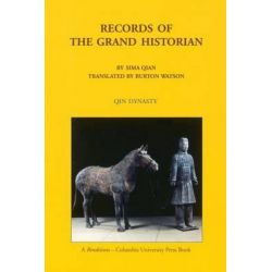Records of the Grand Historian, Sima Qian by Burton Watson, 9780231081696.