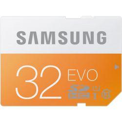 Samsung 32GB EVO UHS-I SDHC U1 Memory Card (Class 10)