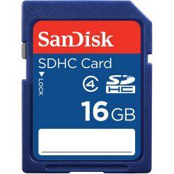 SanDisk 16GB SDHC Memory Card Class 4 SDSDB-016G-B35 B&H Photo