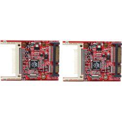 Aleratec Compact Flash (CF) to SATA Adapter (2 Pack) 350119 B&H