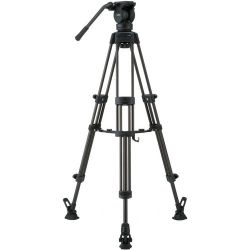 Libec LX5 M Tripod With Pan and Tilt Fluid Head and LX5 M B&H