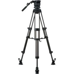 Libec RS-250RM Tripod With Pan and Tilt Fluid Head and RS-250RM