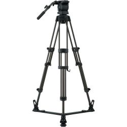 Libec RS-250R Tripod With Pan and Tilt Fluid Head and RS-250R