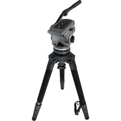 Cartoni G100 Gamma ENG Fluid Head & STABILO Tripod Legs G117