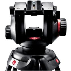 Manfrotto Manfrotto 504HD Video Fluid Head & 535 3-Section