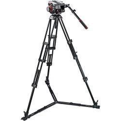 Manfrotto 509HD Video Head with 545GB Tripod Legs, 509HD,545GBK