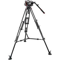 Manfrotto 509HD Video Head with 545B Tripod Legs, 509HD,545BK