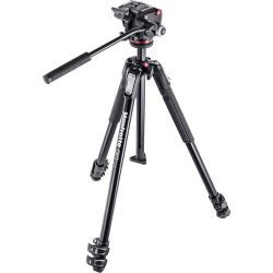 Manfrotto 190X3 Three Section Tripod with MHXPRO-2W MK190X3-2W