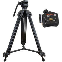 VariZoom VZ-TK75A Video Tripod System & VZTK75A-STEALTHPZFI
