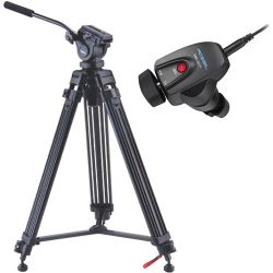 Acebil i-605DX Prosumer Tripod System with RMC-3SCP I-605PK/3SCP