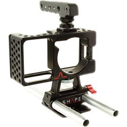 SHAPE Cage for Blackmagic Pocket Camera with Handle and BMPOCAGE