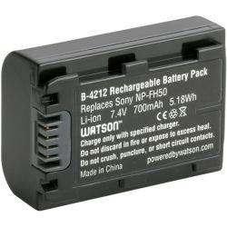 Watson NP-FH50 Lithium-Ion Battery Pack (7.4V, 700mAh) B-4212