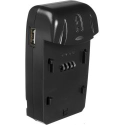 Watson Compact AC/DC Battery Charger and Adapter Plate C-2719K