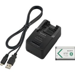 Sony Battery and Charger Kit with NP-BX1 Battery ACCTRBX B&H