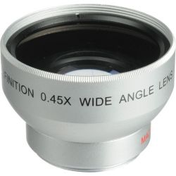 Digital Concepts 0.45x Wide-Angle Lens (30mm, Silver) 1830W B&H