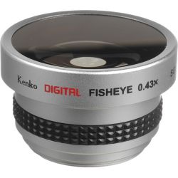 Kenko SGW-043 37mm 0.43x Wide-Angle Fisheye Lens SGW-043 B&H