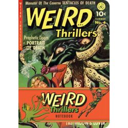 Weird Thrillers Notebook by Ilex Press, 9781781570203.