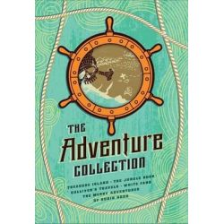 The Adventure Collection, Treasure Island, the Jungle Book, Gulliver's Travels, White Fang, the Merry Adventures of Robin Hood by Jonathan Swift, 9781612184166.
