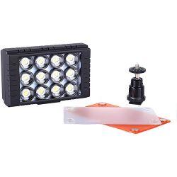 AXRTEC  AXR-C-B12D On-Camera LED Light AXR-C-B12D B&H Photo Video