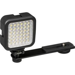Bescor LED-40 On-Camera Light with Vello Multi-Function Ball B&H