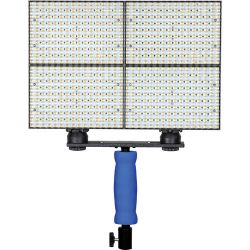 Ledgo 160 LED Bi-Color On-Camera Light Set with Handle LGB160C4K