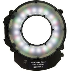 Quantum  OMICRON 4 LED Video Ring Light 860450 B&H Photo Video