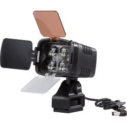 SWIT S-2010 On-Camera LED Light with Pole Power Connector S-2010