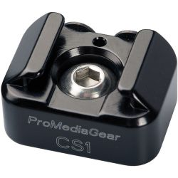 """ProMediaGear Cold Shoe Adapter with 1/4"""" Thread CS1 B&H"""