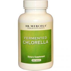 Dr. Mercola, Premium Supplements, Fermented Chlorella, 450 Tablets