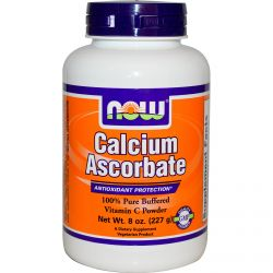 Now Foods, Calcium Ascorbate, 100% Pure Buffered Vitamin C Powder, 8 oz (227 g)