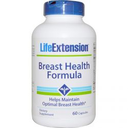 Life Extension, Breast Health Formula, 60 Capsules