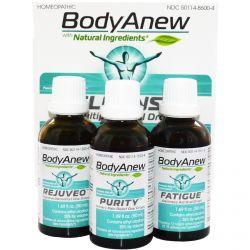 MediNatura, BodyAnew, Cleanse Multipack Oral Drops, 3 Bottles, 1.69 fl oz (50 ml) Each
