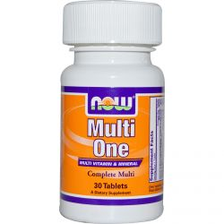 Now Foods, Multi One, Multi Vitamin & Mineral, 30 Tablets