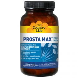 Country Life, Prosta Max, for Men, 200 Tablets