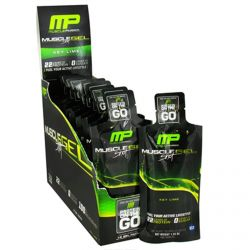 Muscle Pharm, Muscle Gel Shot, Protein in the Go, Key Lime, 12 Gel Packs, 46 g Each