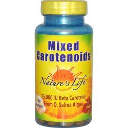 Nature's Life, Mixed Carotenoids, 100 Softgels