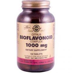 Solgar, Citrus Bioflavonoid Complex, 1000 mg, 100 Tablets