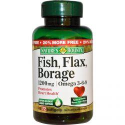 Omega 3 medical sprawd for Fish flax borage oil