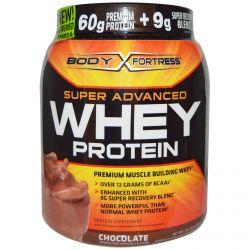 Body Fortress, Super Advanced Whey Protein, Chocolate, 32 oz (907 g)