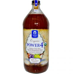 Genesis Today, Power 4, 100% Goji, Acai, Noni & Mangosteen Juice, 32 fl oz (946.3 ml)