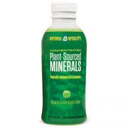 Natural Vitality, Plant-Sourced Minerals, Organic Green Apple Flavor, 16 fl oz (473 ml)
