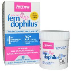 Jarrow Formulas, Women's Fem Dophilus, 30 Veggie Caps