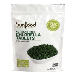 Sunfood, Nutrient-Rich Chlorella Tablets, 250 mg, 900 Tablets, 8 oz (227 g)