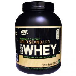 Optimum Nutrition, Naturally Flavored 100% Whey Gold Standard, Chocolate, 4.8 lb (2.18 kg)