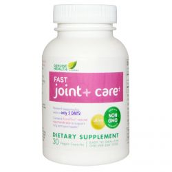 Genuine Health Corporation, Fast Joint + Care, 30 Veggie Caps