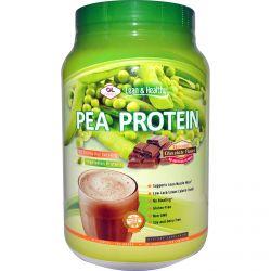 Olympian Labs Inc., Pea Protein, Chocolate Flavor, 27.6 oz (784 g)